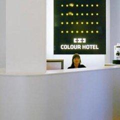 Colour Hotel интерьер отеля