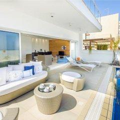 Отель Oceanview Villa 100 Кипр, Протарас - отзывы, цены и фото номеров - забронировать отель Oceanview Villa 100 онлайн бассейн фото 3