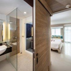 Отель Novotel Phuket Resort 4* Улучшенный номер с двуспальной кроватью фото 8