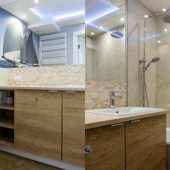 Отель Apartinfo Waterlane Apartments Польша, Гданьск - отзывы, цены и фото номеров - забронировать отель Apartinfo Waterlane Apartments онлайн ванная
