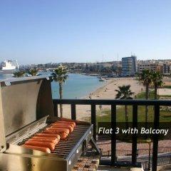 Апартаменты Pretty Bay Apartments Бирзеббуджа балкон