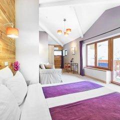 Гостевой дом Резиденция Парк Шале Номер Делюкс с двуспальной кроватью фото 4
