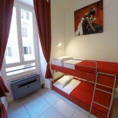 Palladini Hostel Rome Кровать в общем номере с двухъярусной кроватью
