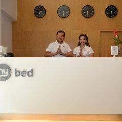 Отель My Bed Ratchada Бангкок интерьер отеля фото 2