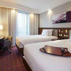 Отель Hampton by Hilton London Waterloo 3* Стандартный номер с различными типами кроватей фото 6