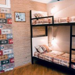Hostel Kamin Стандартный семейный номер разные типы кроватей (общая ванная комната) фото 7