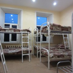 Hostel Avrora Кровать в общем номере с двухъярусной кроватью фото 19