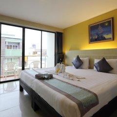 Ansino Bukit Hotel 3* Улучшенный номер двуспальная кровать фото 10