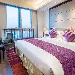 Отель Somerset Xu Hui Shanghai комната для гостей фото 5