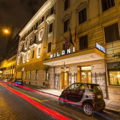 Отель MILANI Рим городской автобус