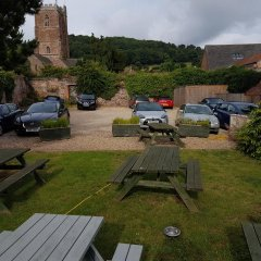 Dunster Castle Hotel парковка