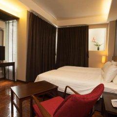Отель Baan Silom Soi 3 2* Улучшенный номер с разными типами кроватей фото 6