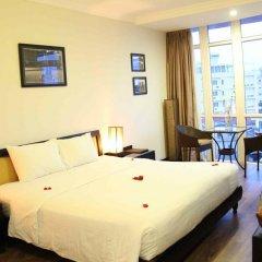 Orchid Hotel 3* Стандартный семейный номер с двуспальной кроватью фото 3