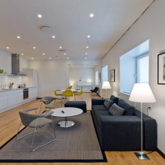 Апартаменты Europahuset Apartments Улучшенные апартаменты с 2 отдельными кроватями фото 5
