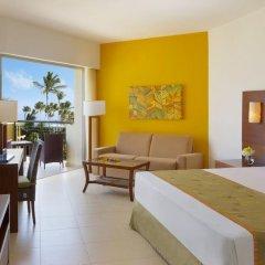 Отель Now Larimar Punta Cana - All Inclusive 4* Номер Делюкс с различными типами кроватей фото 12