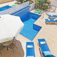 Отель Villa Alina Кипр, Протарас - отзывы, цены и фото номеров - забронировать отель Villa Alina онлайн бассейн фото 2