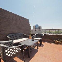 Отель Penthouse Sants Station Барселона балкон