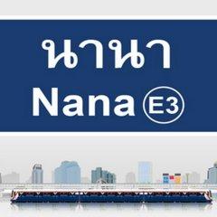 Отель Best Value Inn Nana Бангкок приотельная территория