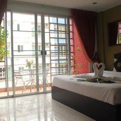 Отель Cool Sea House 2* Апартаменты разные типы кроватей фото 17