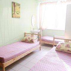 Хостел Эрэл Стандартный семейный номер с двуспальной кроватью