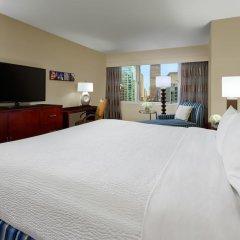 Отель Crowne Plaza Times Square Manhattan 4* Стандартный номер с двуспальной кроватью фото 3