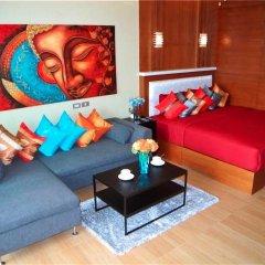 Апартаменты Sea & Sky Karon 2 bedrooms Apartment Sea View комната для гостей фото 4