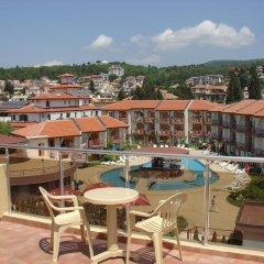 Отель Sunny Flower Hotel Болгария, Солнечный берег - отзывы, цены и фото номеров - забронировать отель Sunny Flower Hotel онлайн балкон