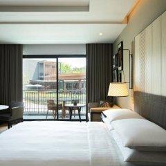 Отель Hua Hin Marriott Resort & Spa 5* Улучшенный номер с различными типами кроватей фото 5