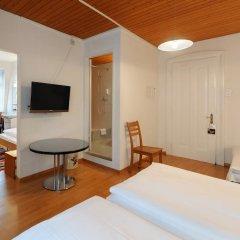 Hotel National Bern 2* Стандартный номер с различными типами кроватей фото 4