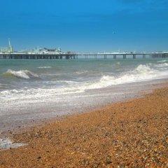 Отель Sea Fizz Великобритания, Брайтон - отзывы, цены и фото номеров - забронировать отель Sea Fizz онлайн пляж