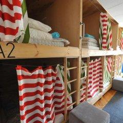 Хостел Архитектор Кровать в общем номере с двухъярусной кроватью фото 27