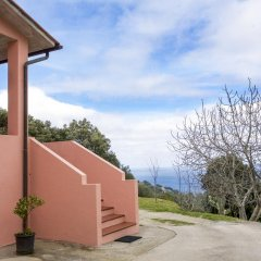 Отель Villino Mare e Natura Проччио парковка