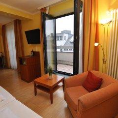 Отель Parkhotel im Lehel 3* Студия с различными типами кроватей фото 8