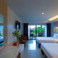 Отель Chanalai Garden Resort, Kata Beach 4* Улучшенный номер с двуспальной кроватью