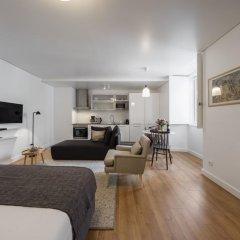 Апартаменты Lisbon Serviced Apartments Baixa Castelo Студия с различными типами кроватей фото 8