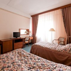Президент Отель 4* Улучшенный номер с различными типами кроватей фото 4