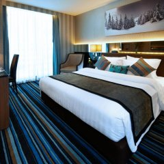 Отель The Continent Bangkok by Compass Hospitality 4* Стандартный номер с различными типами кроватей фото 23