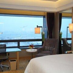 Shanghai Hongqiao Airport Hotel 4* Номер Делюкс с 2 отдельными кроватями фото 6