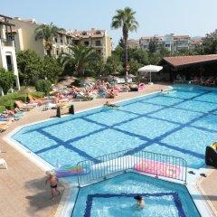 Club Turquoise Apart Турция, Мармарис - отзывы, цены и фото номеров - забронировать отель Club Turquoise Apart онлайн бассейн фото 3