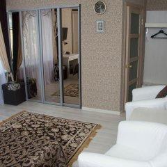 Мини-Отель Каприз Стандартный номер двуспальная кровать фото 6
