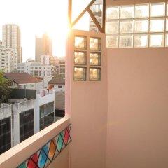 Отель Zen Rooms Mahajak Residence Бангкок балкон