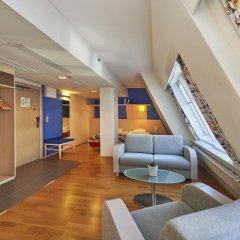 Отель Scandic Hakaniemi 3* Улучшенный номер с различными типами кроватей фото 4