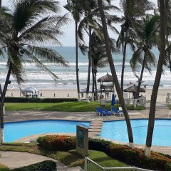 Отель Condominio Mayan Island Playa Diamante пляж