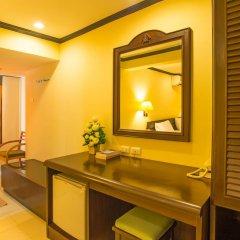Krabi City Seaview Hotel 2* Улучшенный номер с различными типами кроватей фото 7