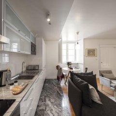 Апартаменты Lisbon Serviced Apartments Baixa Castelo Студия с различными типами кроватей фото 6