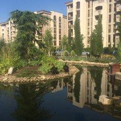 Отель Cascadas 7 Studio Болгария, Солнечный берег - отзывы, цены и фото номеров - забронировать отель Cascadas 7 Studio онлайн приотельная территория фото 2