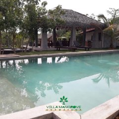 Отель Villa Mangrove Унаватуна бассейн фото 2