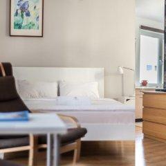 Отель Apartment4you Wilcza Студия с различными типами кроватей фото 15