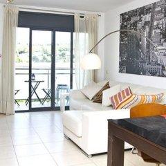 Апартаменты Fira Barcelona View Montjuic Apartments комната для гостей фото 4