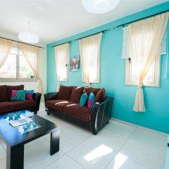 Отель Oceanview Villa 089 Кипр, Протарас - отзывы, цены и фото номеров - забронировать отель Oceanview Villa 089 онлайн комната для гостей фото 3